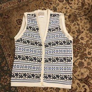 Adorable Vintage sweater vest